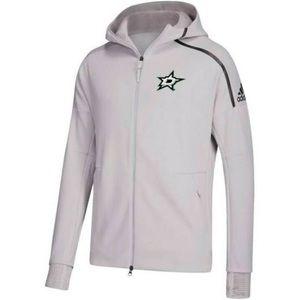 Adidas Dallas Stars Zip Up Hoodie